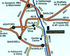Map of Bakewell